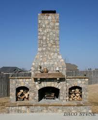 Stone Fireplace Kits Outdoor - fireplace kits outdoor fireplaces and pits daco stone