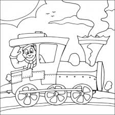 print coloring pages steam train kids printable coloring