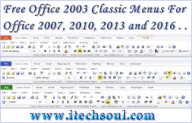 free office 2007 free office 2003 classic menus for latest office 2007 2010 2013