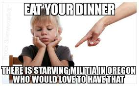 Meme Eat - image militia meme eat your dinner there is starving militia in