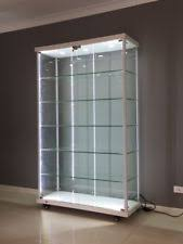 pint glass display cabinet glass display cabinets ebay