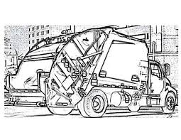 car transporter garbage truck coloring pages best place to color