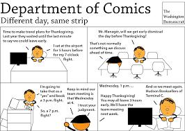 the last thanksgiving cartoon department of comics the washington bureaucrat page 3