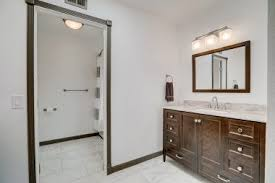 Bathroom With Two Separate Vanities by Tara U0026 April Glatzel The Sister Team Info For The