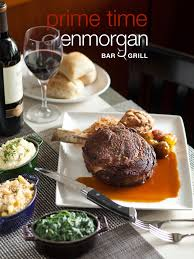 saturday evening three course prime rib dinner at glenmorgan the