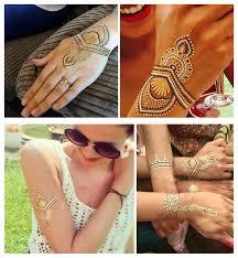 silver gold temporary metallic tattoo u2013 bracelets back jewelery