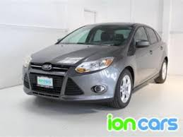 used ford focus 2012 used 2012 ford focus sedan pricing for sale edmunds
