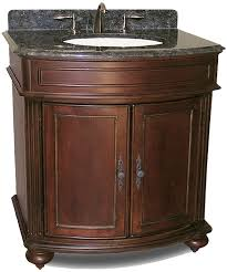 30 In Bathroom Vanity Arlington 30 Antique Bathroom Vanity Cherry Sherwin Williams Finish
