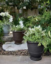 urn planters kylemore outdoor plastic urn planter resin stone