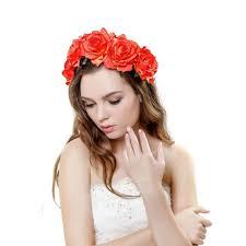 headband floral 2018 new fashion women wedding flower wreath