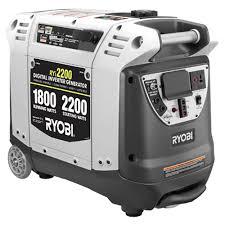 ryobi 2 200 watt green gasoline powered digital inverter generator