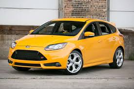 ford focus st yellow 2013 ford focus st overview cars com
