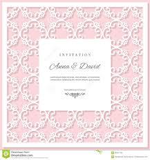Wedding Invitation Card Template Wedding Invitation Card Template With Laser Cutting Frame Pastel