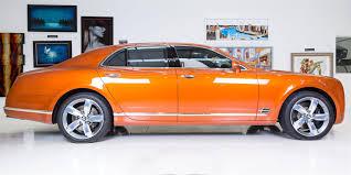 orange bentley used 2016 bentley mulsanne speed for sale in london pistonheads