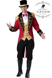 Mens Clown Halloween Costumes Circus Joker Trainer Tuxedo Clown Halloween Carnival Christmas