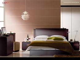 Brown Accent Wall by Gorgeous Boys Minimalist Bedroom Designs With Brown Accent Wall