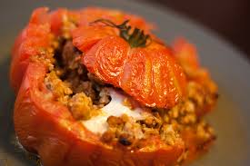 comment cuisiner le coeur de boeuf tomates cœur de bœuf farcies au veau et mozzarella food for