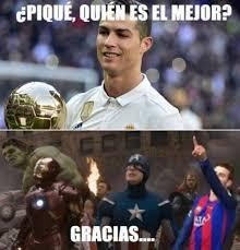 Memes De Lionel Messi - memes y burlas a messi por el the best de cristiano ronaldo