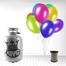 balloon ribbon helium cylinder 30 balloons ribbon partyrama co uk