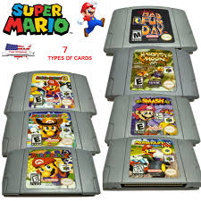 n64 price guide super mario kart 64 mario party1 2 3 game card cartridges for