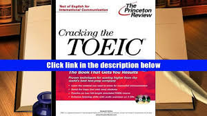 best pdf cracking the toeic with audio cd with cd audio