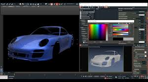 maxtoa car paint with alflake arnold render by volkan kaçar youtube