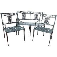 Vintage Aluminum Patio Furniture - vintage molla patio set
