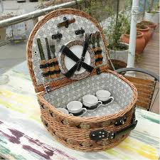vintage picnic basket aliexpress buy classic handmade large wicker picnic basket
