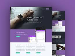 website design free 50 best free landing page psd templates djava ui