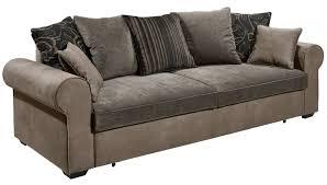 sofa 3er 3er sofa 3 sitzer schlafsofa schlaffunktion braun