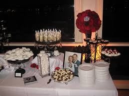 classic black and white wedding with red roses newport beach ca