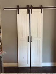 Barn Door Ideas For Bathroom 18 Closet Door Makeovers That Ll Give You Closet Envy Bi Fold