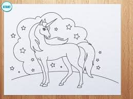 how to draw unicorn youtube