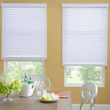 Faux Wood Blinds Blinds The Home Depot - Home depot window shutters interior