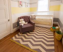 yellow gray nursery with white dresser nursery contemporary and