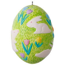 egg ornament 2017 bouncing bunny easter egg ornament hooked on hallmark ornaments