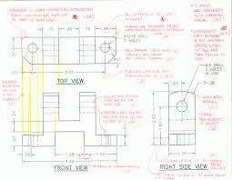 3 multi view orthographic projection drawing romeo eng