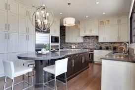 Buffet Kitchen Island Kitchen Stainless Range Hood With White Countertops Also Kitchen