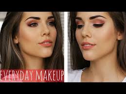 everyday c makeup tutorial daytime work appropriate