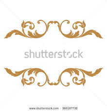 pattern clip art images element clipart gold decorative line pencil and in color element