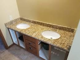 slab sink granite bathroom gallery vanity countertop slab st
