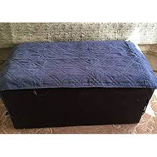 amazon com the pu leather klippan ottoman cover replacement is