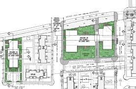 residential site plan park infill residential