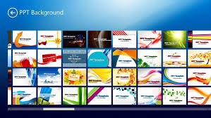 powerpoint template windows 8 apps u0026 games on brothersoft com