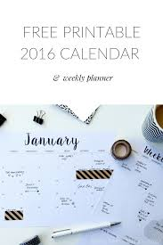 How To Become A Wedding Planner For Free Free Printable Calendar 2016 U0026 Weekly Planner Printable Free