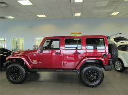lifted jeep red custom lifted jeep wranglers in cartersville ga