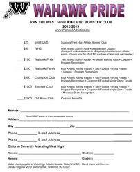 club membership form template word 85 samples csat co