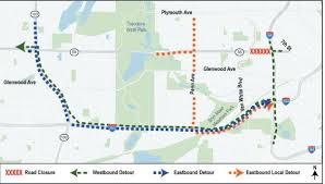 Light Rail Map Minneapolis Hwy 55 Segment In Minneapolis To Close For 2 Weeks For Light Rail