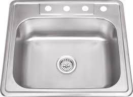 Top Mount Kitchen Sinks Www Iptsink Com Dp 2522 Drop In Top Mount Single Bowl Stainless