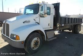 kenworth t300 1998 kenworth t300 flatbed dump truck item da7362 sold